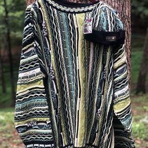 Vintage 90's Coogi Biggie Multicololor Sweater